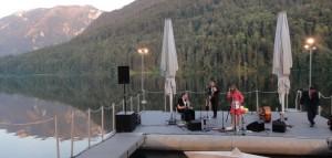 Aldona und Band begeisterten mit ihrer schwungvollen Musik das Publikum!