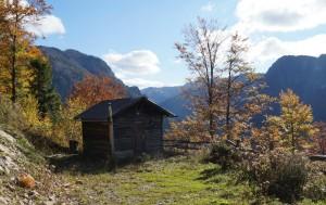Blick über Moaserhütte zur Herrnalm