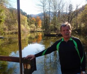 Geschaftt - Fischteiche in Steinbach.Danke an Lisa und Christian fürs Abholen