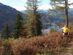 Schöne , klare Sicht ins Bergland