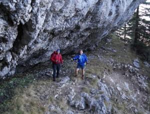 Unterwegs zur Eishöhle