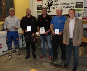 Mit Manfred Weissensteiner und Karl Pechhacker schafften es auch zwei Lunzer aufs Stockerl - herzliche Gratulation