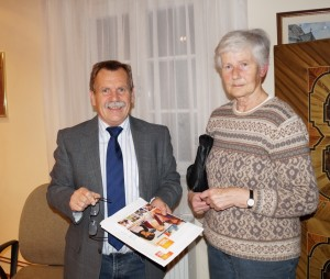 Liebe Gudrun, herzlichen Dank  für euer Engagement.