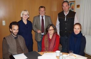Herzlichen Dank für die gute Zusammenarbeit und besonders für die tatkräftige Unterstützung von Dr. Blaas.