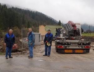 Baustellenbesuch in Kasten