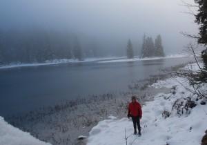 Völlige Stille am Obersee - herrlich!