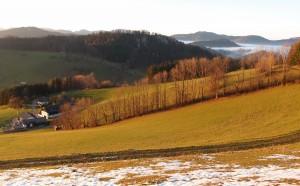 Blick übers Moas Richtung Grubberg