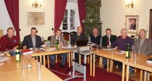 Vorstand des Radwegverbandes - bereits Stammgast im Amonhaus