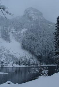 Winter am Mittersee mit Höhenstein