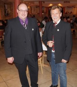 Heinz und ich bekamen eine Auszeichnung des Blasmusikverbandes- herzlichen Dank!