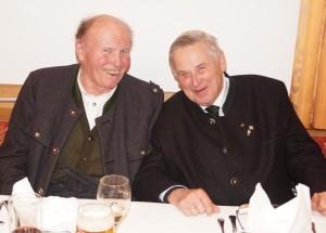 Besonders freuten wir uns über den Besuch unseres Ehrenobmannes Hermann Schnabel und des Ehrenbezirksobmannes Karl Lechner