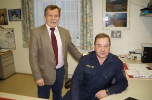 Beim Besuch unserer Polizeiinspektion - eure argumentative Unterstützung im Vorfeld war sehr wichtig.