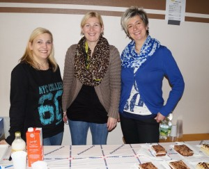 Monika Prüller, Kati Hudler und Monika Karl versorgten die Gäste - vielen Dank!