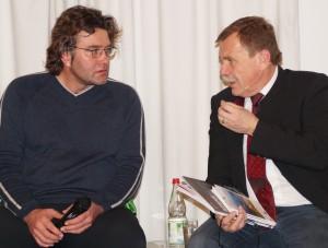 Im Gespräch mit dem Moderator, Georg Bayerle vom Bayerischen Rundfunk