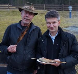 """Dr. Martin Kainz (Projektleitet) und Mitarbeiter Ing. Hannes Hager lieferten die """"Beweise"""" für das gelungene Projekt."""