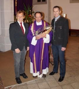 Gemeinsam mit Vize Sepp Schachner überbrachte ich die Glückwünsche der Gemeinde.