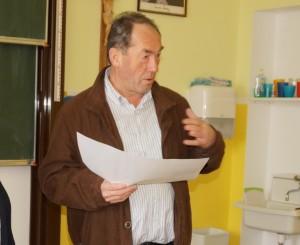 Tourismusobmann Hans Mayr informiert uns über das geplante Narzissenfest