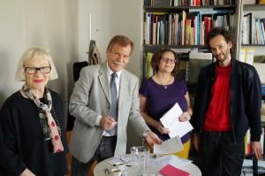 Besprechung in St.Pölten. Herzlichen Dank an Dr. Blaas für die gute Beratung und Unterstützung