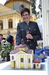 Töpperkapelle von Petra Rumpl als süße Nachspeise