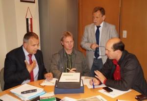 """Intensiver Beratungen über einige """"Problemzonen"""" des Radweges - Lösungen in Sicht!!"""