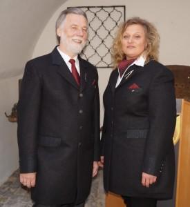"""Erster öffentlicher Auftritt in der neuen """"dienstkleidung"""". danke Fa. Loden Landl und Fa. Steinbacher für die Unterstützung. Liebe Monika, lieber Hans, danke für eure Arbeit."""