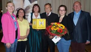 Elisabet Kellnreiter freut sich über die musikalische und organisatorische  Unterstützung
