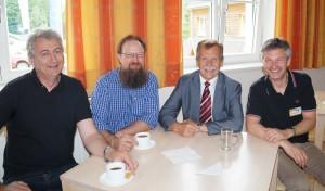 Forscher aus Norwegen und Finnland waren voll des Lobes über Lunz und den WKL