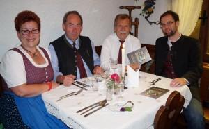 Gemütlicher, genussreicher Abend - lieber Hans, danke für die Einladung!