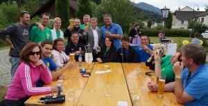 Bestens unterhalten hat sich auch die Freizeitrunde aus Götzendorf - danke für euren Besuch!
