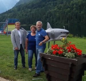 Maria und WErner Gamsjäger organiseirten das Projekt in Lunz - danke für euren Einsatz