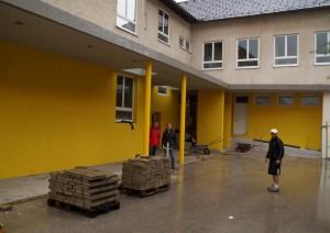 Baustellenbesuch kurz vor der Fertigstellung