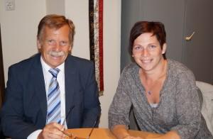 Liebe Barbara, danke für deinen Einsatz im Elternverein und die gute Zusammenarbeit!