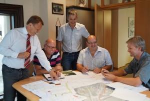 Aufschließung der neuen Bauparzellen ist in der Planungsphase