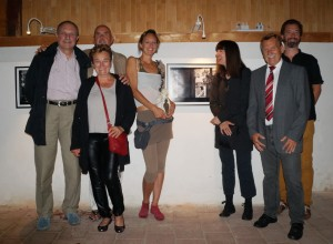 Zur gelungenen Ausstellung gratulierte auch Christian Ludwig Attersee!