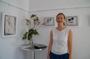 Christa freut sich auf viele Besucher
