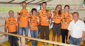 Die Vereinsmeister 2014 - herzlichen Glückwunsch!
