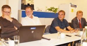 Bei der GVV-Sitzung in Scheibbs