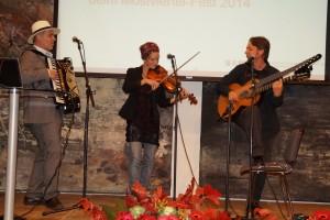 """Tolle musikalische Umrahmung durch """"die Steinbach"""""""