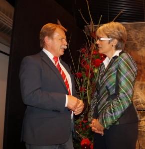 Bei unserer Landesrätin Petra Bohuslav bedankte ich mich für die Unterstützung des Radwegprojektes!