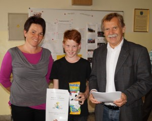 Alexander Dallhammer gewann seine Klasse - herzliche Gratulation!