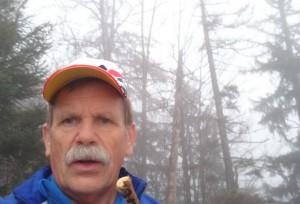 Selfie im Nebel