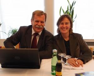 Die Leiterin unseres Projektes Liliane Dagostin