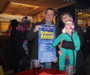 Besuch aus St.Georgen am Reith mit Einladung zum Reitherer Advent