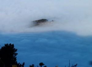 Zinken im Nebelmeer