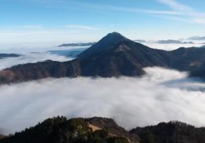 Blick vom Gipfel zum Ötscher