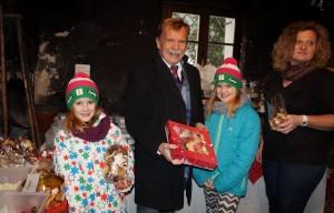 Beim Advent im Amonhaus mit Lena und Sophie - haben euch die Kekerserl auch so gut geschmeckt iwe mir?