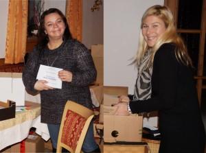 Herzlichen Dank an Kati und Elfi für die perfekte Vorbereitung der Sitzung