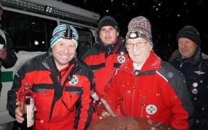 Serviceteam der Bergrettung