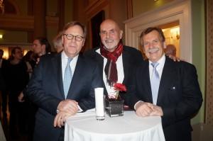 Der Vorstandsvorsitzende der Bank Austria Willibald Cernko fand anerkennende Wort für das Festival