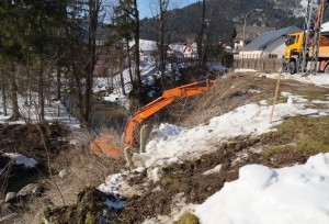 Sicherungsmaßnahmen im Seebach